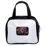 Love-Hurts-Tattoo-Chrome-Belt-Buckle Classic Handbag (Two Sides)