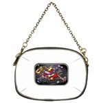 Love-Hurts-Tattoo-Chrome-Belt-Buckle Chain Purse (Two Sides)