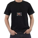 Love-Hurts-Tattoo-Chrome-Belt-Buckle Black T-Shirt
