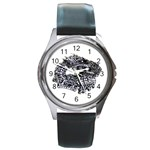 LARK65 Round Metal Watch