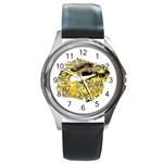 LARK64 Round Metal Watch