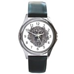 LARK60 Round Metal Watch