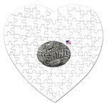 lark57 Jigsaw Puzzle (Heart)
