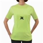 lark48B Women s Green T-Shirt