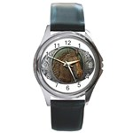 I76E Round Metal Watch