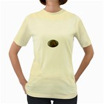 I76E Women s Yellow T-Shirt