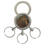 I76E 3-Ring Key Chain