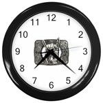 31035 Wall Clock (Black)