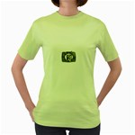 31035 Women s Green T-Shirt