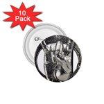 31035 1.75  Button (10 pack)