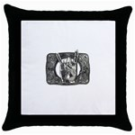 31035 Throw Pillow Case (Black)