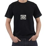 31035 Black T-Shirt (Two Sides)