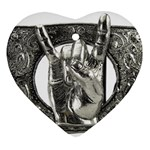 31035 Heart Ornament (Two Sides)