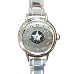 BuckleA270 Round Italian Charm Watch