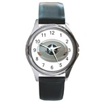 BuckleA270 Round Metal Watch