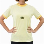 BuckleA270 Women s Fitted Ringer T-Shirt