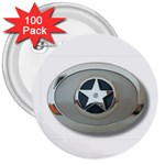 BuckleA270 3  Button (100 pack)