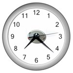 BuckleA270 Wall Clock (Silver)