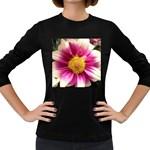 wallpaper_19674 Women s Long Sleeve Dark T-Shirt