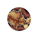 tabula_wallpaper-145984 Rubber Round Coaster (4 pack)