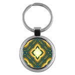 Subway_sign Key Chain (Round)