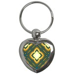 Subway_sign Key Chain (Heart)