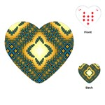 Subway_sign Playing Cards (Heart)