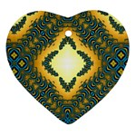 Subway_sign Heart Ornament (Two Sides)
