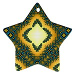 Subway_sign Star Ornament (Two Sides)