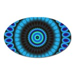 KaleidoFlower-208768 Magnet (Oval)