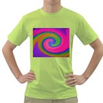 Magic_Colors_Twist_Soft-137298 Green T-Shirt