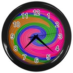 Magic_Colors_Twist_Soft-137298 Wall Clock (Black)