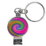 Magic_Colors_Twist_Soft-137298 Nail Clippers Key Chain