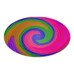 Magic_Colors_Twist_Soft-137298 Magnet (Oval)