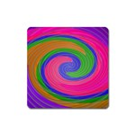 Magic_Colors_Twist_Soft-137298 Magnet (Square)