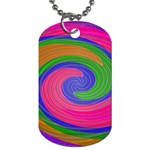 Magic_Colors_Twist_Soft-137298 Dog Tag (Two Sides)