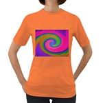Magic_Colors_Twist_Soft-137298 Women s Dark T-Shirt