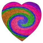 Magic_Colors_Twist_Soft-137298 Jigsaw Puzzle (Heart)