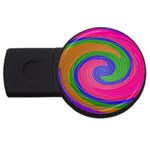 Magic_Colors_Twist_Soft-137298 USB Flash Drive Round (4 GB)