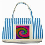 Magic_Colors_Twist_Soft-137298 Striped Blue Tote Bag