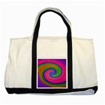 Magic_Colors_Twist_Soft-137298 Two Tone Tote Bag