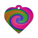 Magic_Colors_Twist_Soft-137298 Dog Tag Heart (One Side)