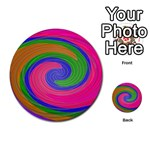 Magic_Colors_Twist_Soft-137298 Multi-purpose Cards (Round)