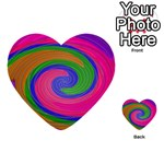 Magic_Colors_Twist_Soft-137298 Multi-purpose Cards (Heart)