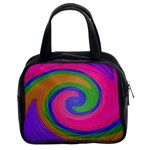Magic_Colors_Twist_Soft-137298 Classic Handbag (Two Sides)
