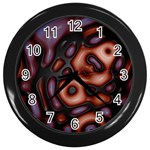 Magic_Drops_02-490649 Wall Clock (Black)