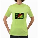 1-4 Women s Green T-Shirt