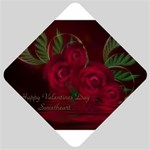 apoth_rose_v Car Window Sign