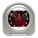 apoth_rose_v Travel Alarm Clock