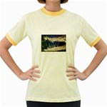 Croc Women s Fitted Ringer T-Shirt